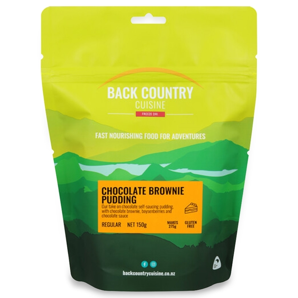 Back Country Cuisine Chocolate Brownie Pudding - Gluten Free 150g
