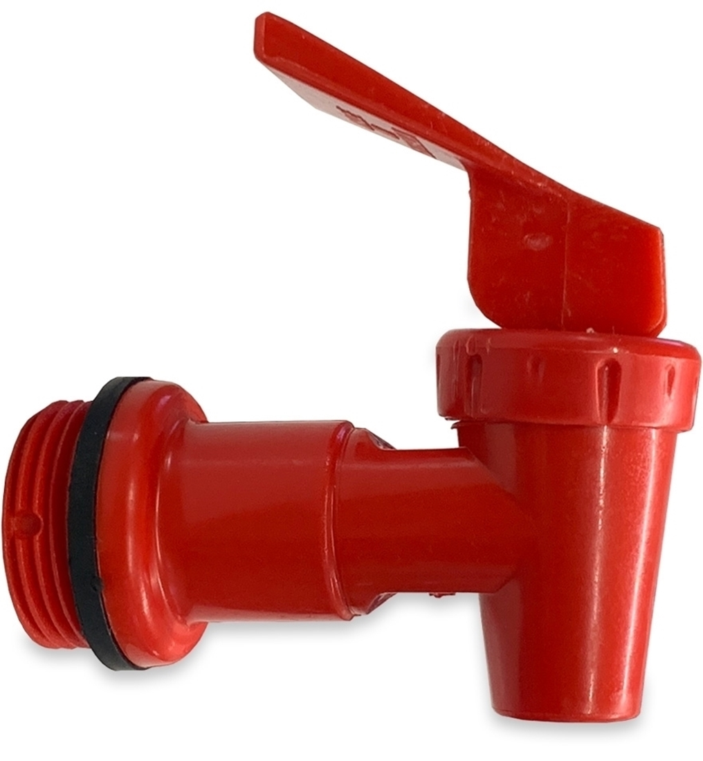 Makin Tracks H2O Jerry Can Tap Lever Action - Red