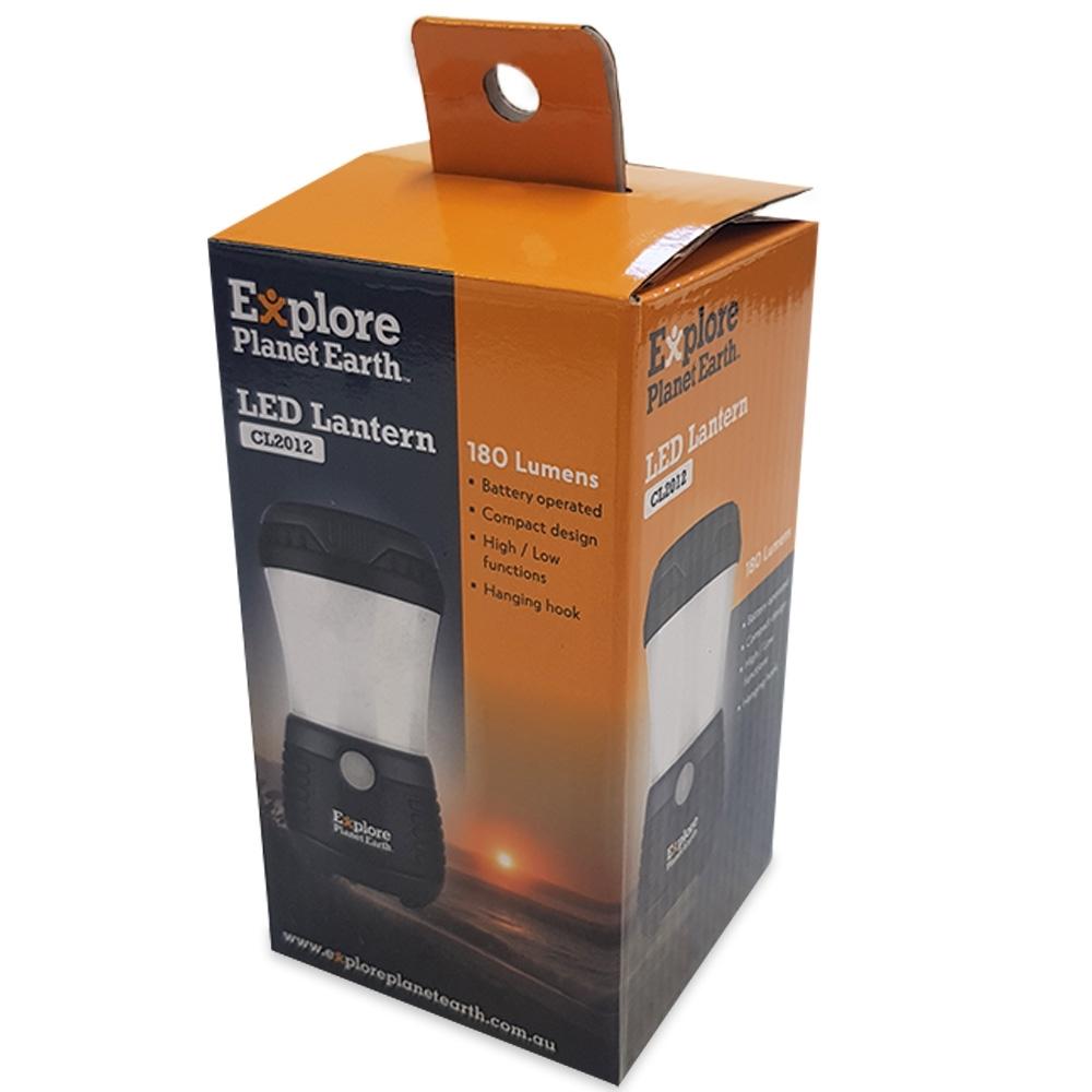 Explore Planet Earth 180 LED Lantern Light - Packaging