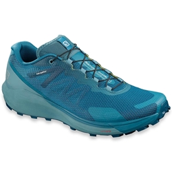 Salomon Sense Ride 3 Men's Shoe Lyons Blue Smoke Blue Lemon Zest