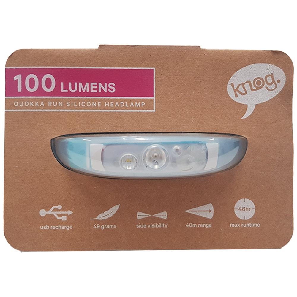 Knog Quokka Run Headlamp - Packaging