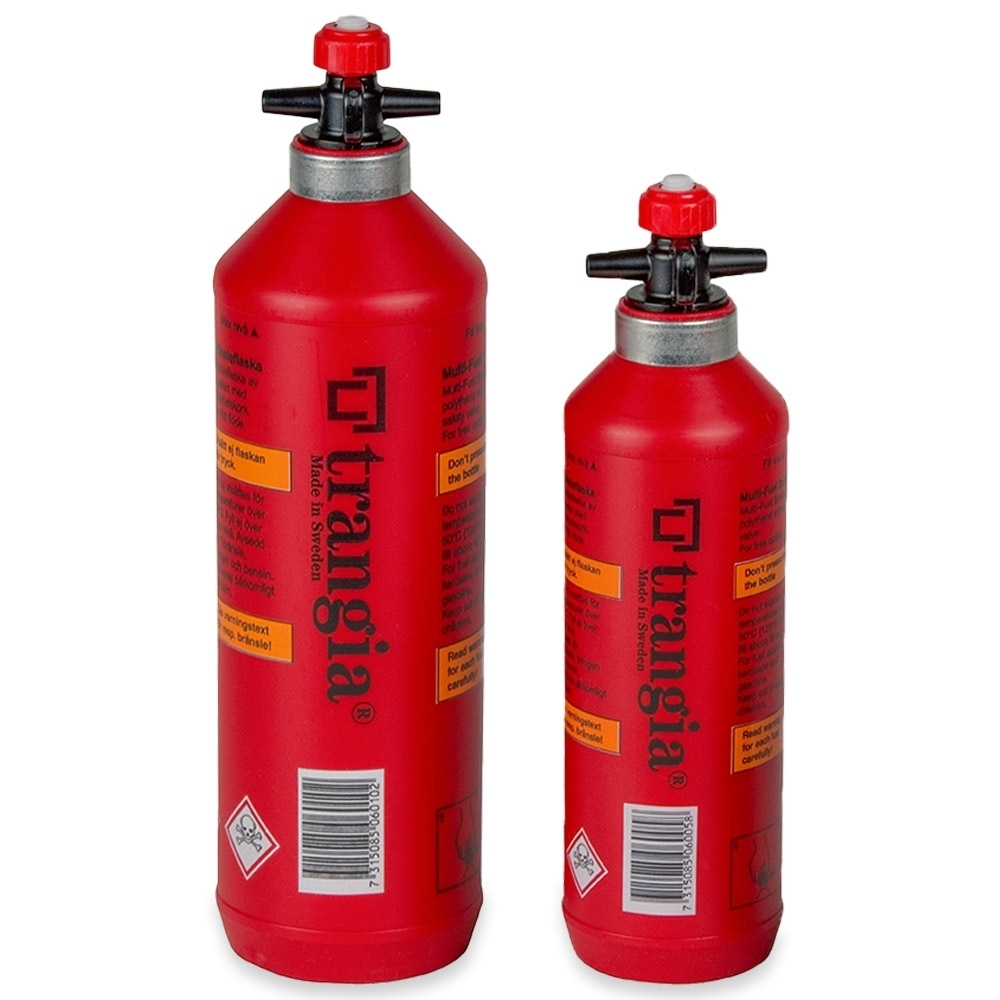 Trangia Multi Fuel Bottles - 500mL and 1L
