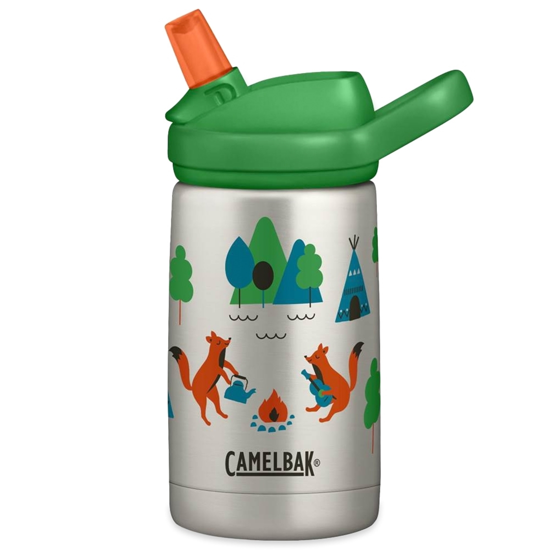 Camelbak Eddy+ Kids Insulated Stainless Steel Bottle 350ml Camping Foxes