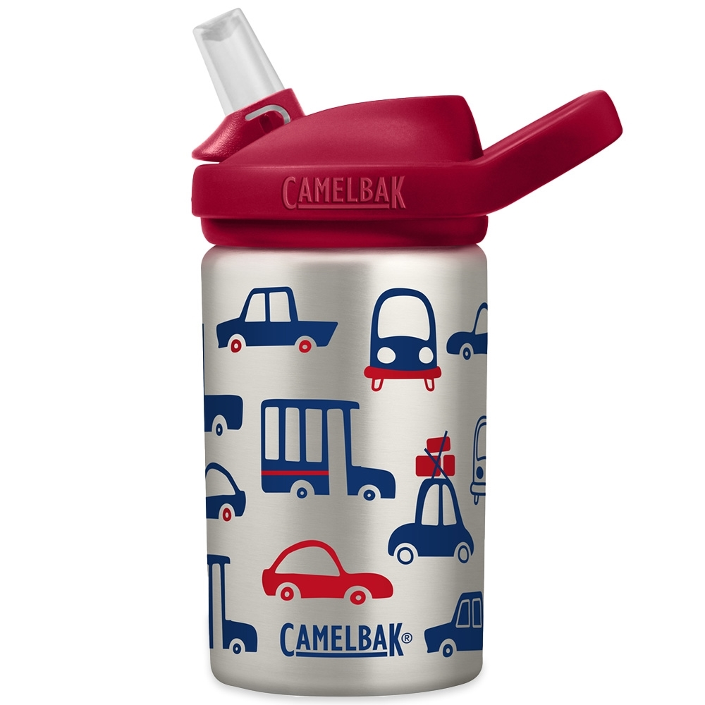 Camelbak Eddy+ Kids Stainless Steel Bottle 400ml Cars & Trucks