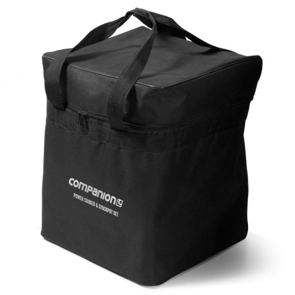 Companion Gas Power Cooker & Stockpot Set - Bag