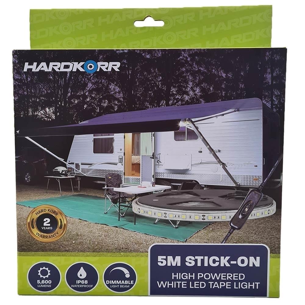 Hard Korr 5m High Powered Flexible Strip Light - Packaging Front