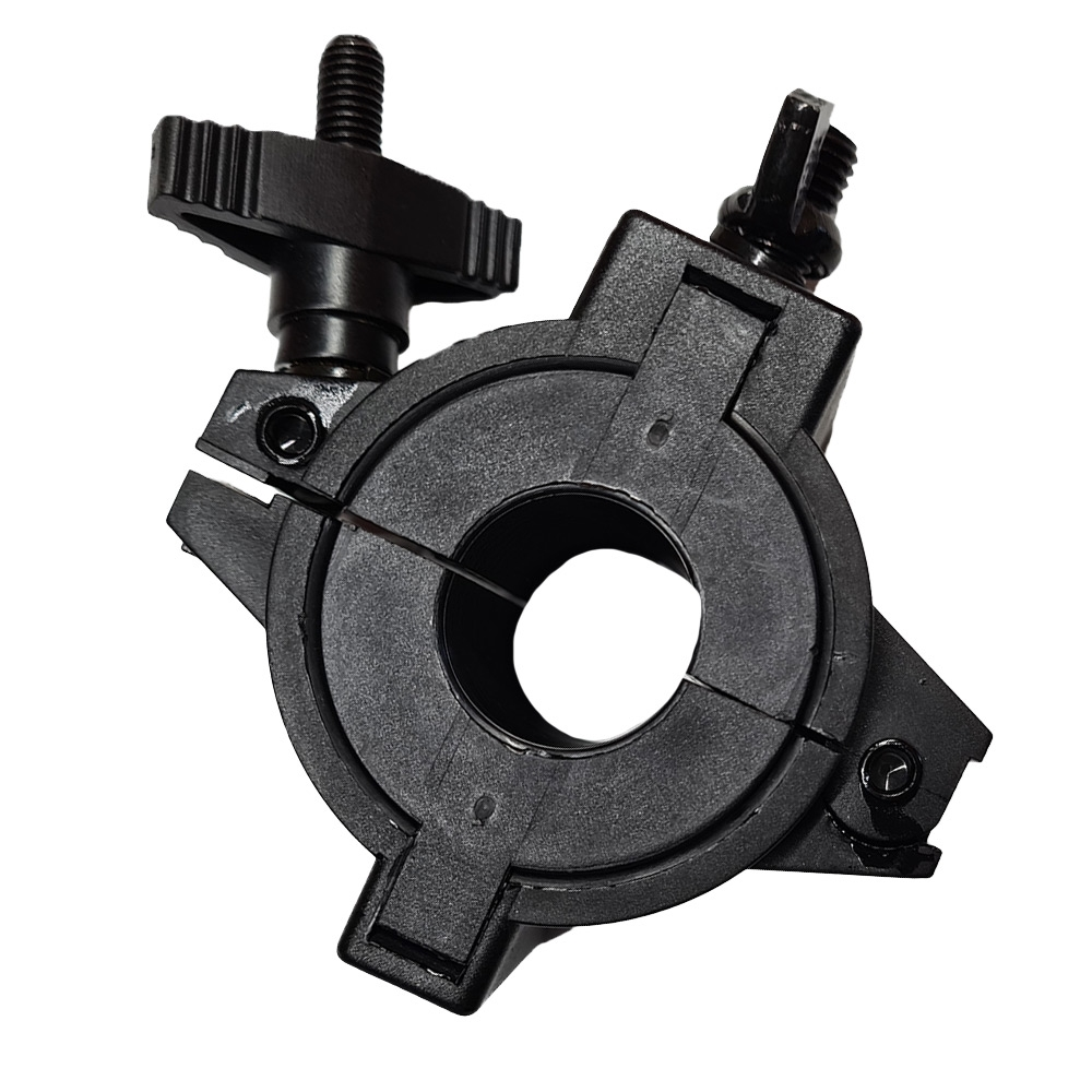 Hard KorrPole Clamp for LED Work Lights - Closed