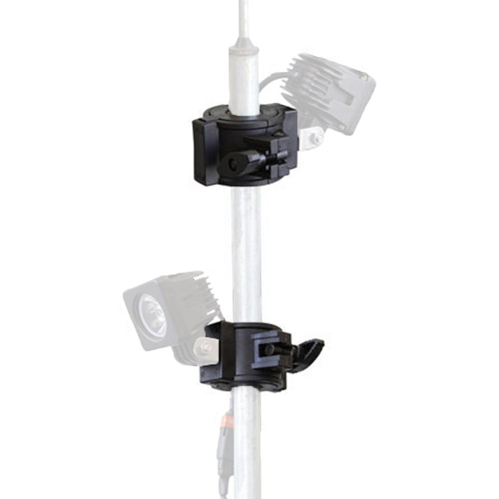 Hard KorrPole Clamp for LED Work Lights