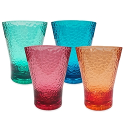 Everclear Tritan Unbreakable Tumblers 4PK Colours