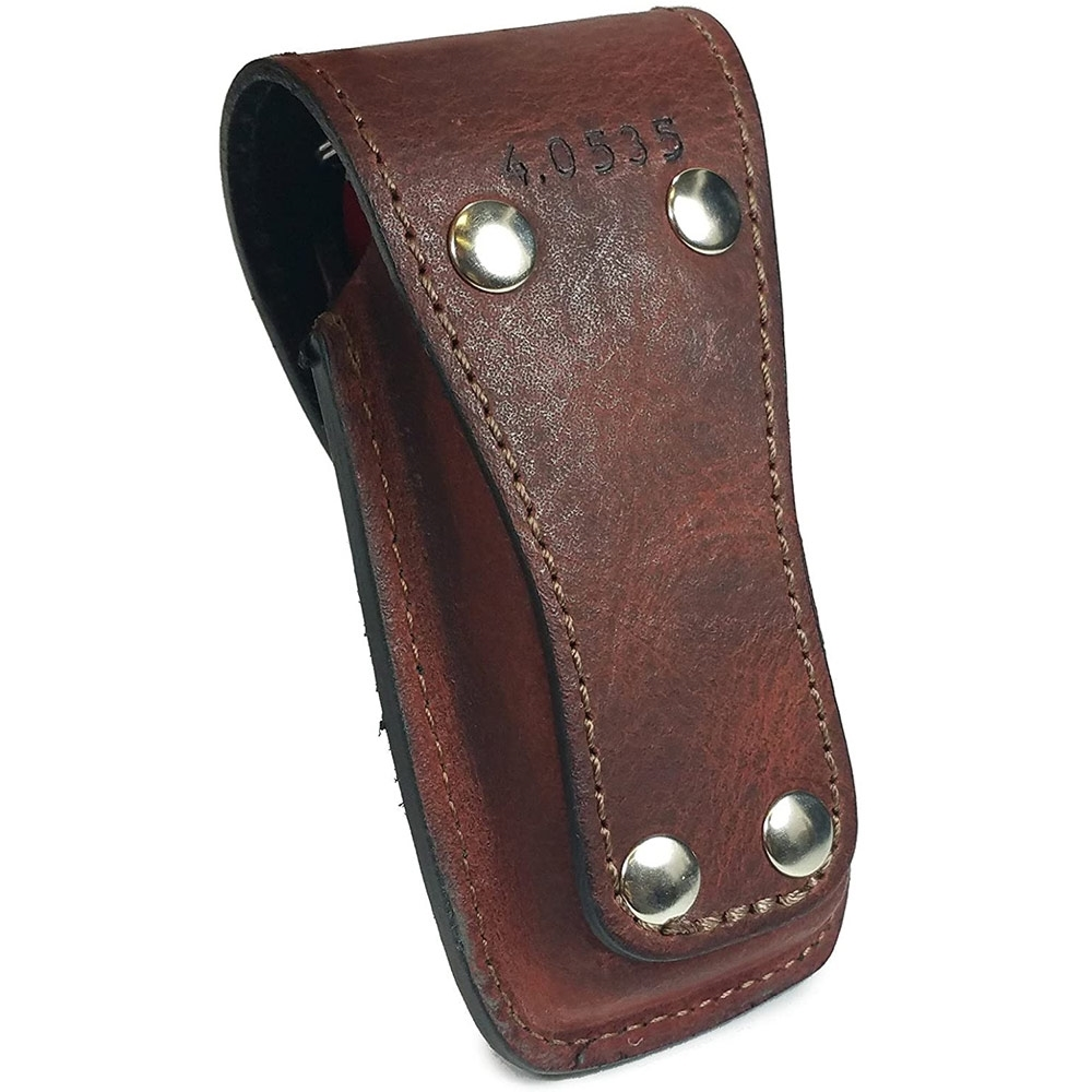 Victorinox Leather Sheath 5-8 Layers Brown - Back