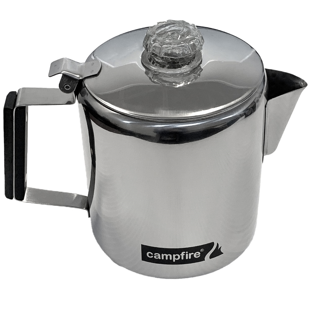 Campfire Coffee Percolator 5 Cup - Kettle (side view)