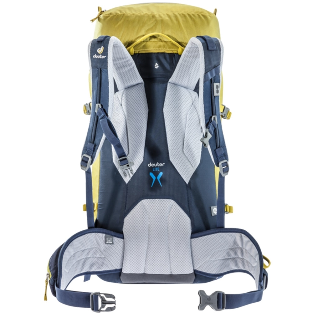 Deuter Guide Lite 28+ SL Alpine Backpack Greencurry Navy - Back