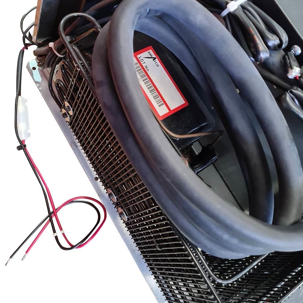 Engel SB30G Drawer Fridge - Remote Compressor and Electrical Wires