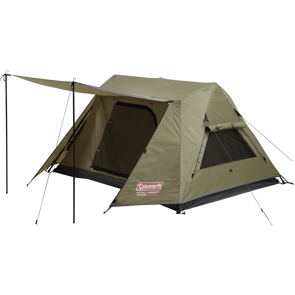 Coleman Instant Swagger 2P Tent - Awning poles included