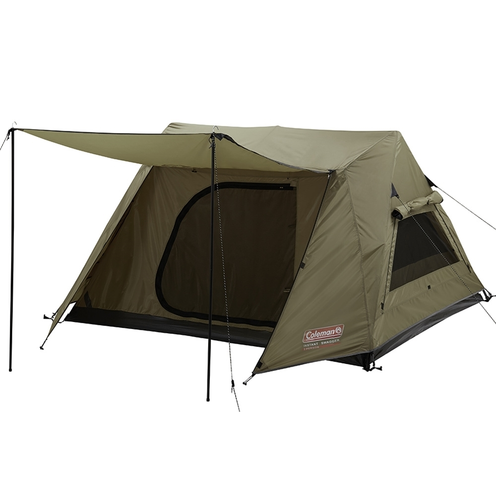 Coleman Instant Swagger 3P Tent - Awning poles included