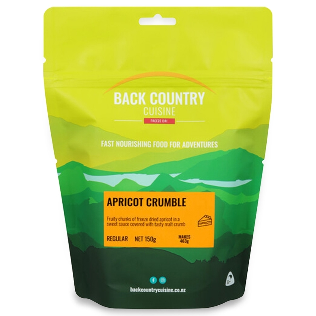 Back Country Cuisine Apricot Crumble 150g