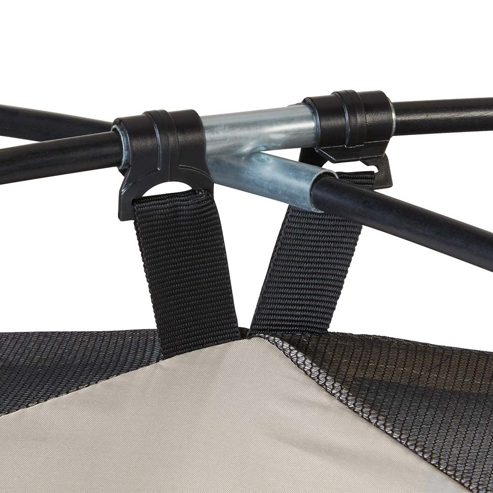 Coleman Quick Dome 4P Dome Tent - Poles cross over on top