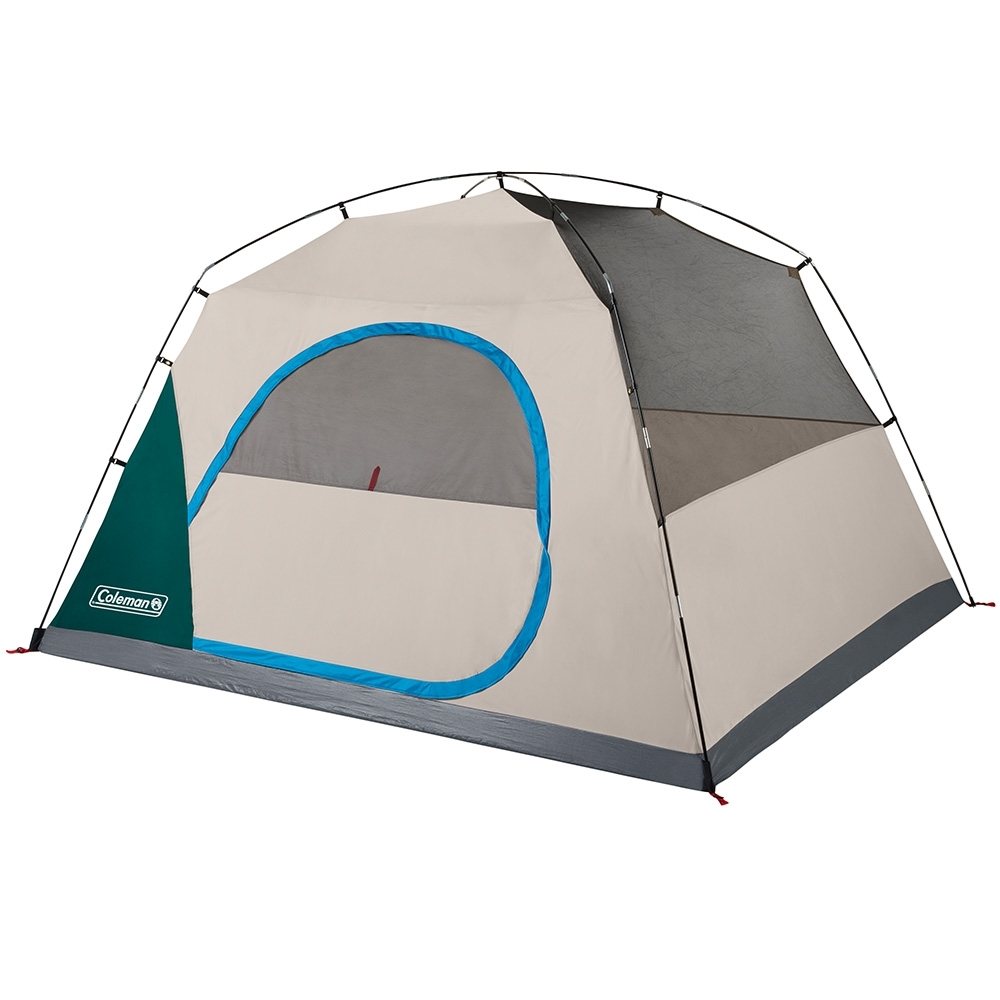 Coleman Quick Dome 6P Dome Tent - Wide door design for easy access