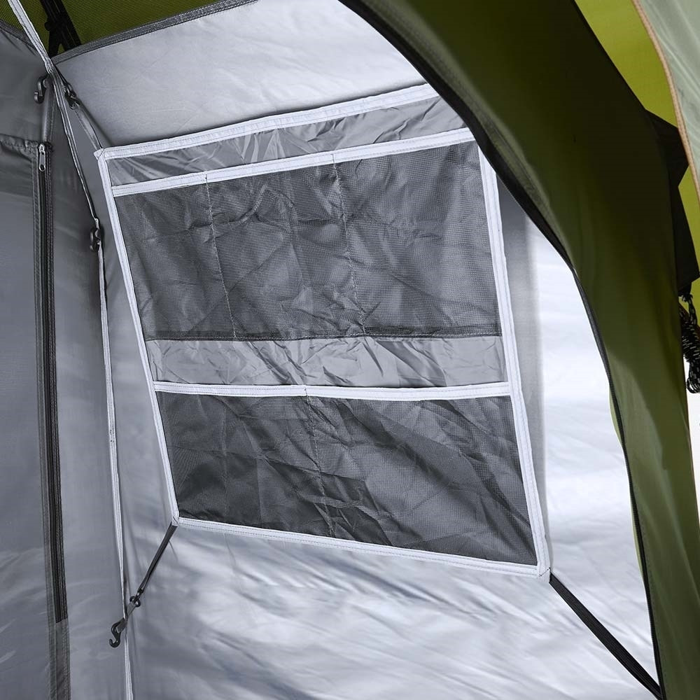 Coleman Instant Up Double Ensuite Tent - Storage pockets