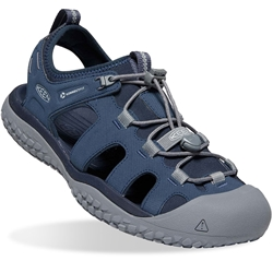 Keen SOLR Men's Sandal Navy Steel Grey