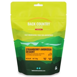 Back Country Cuisine Strawberry Ambrosia Dessert 150g