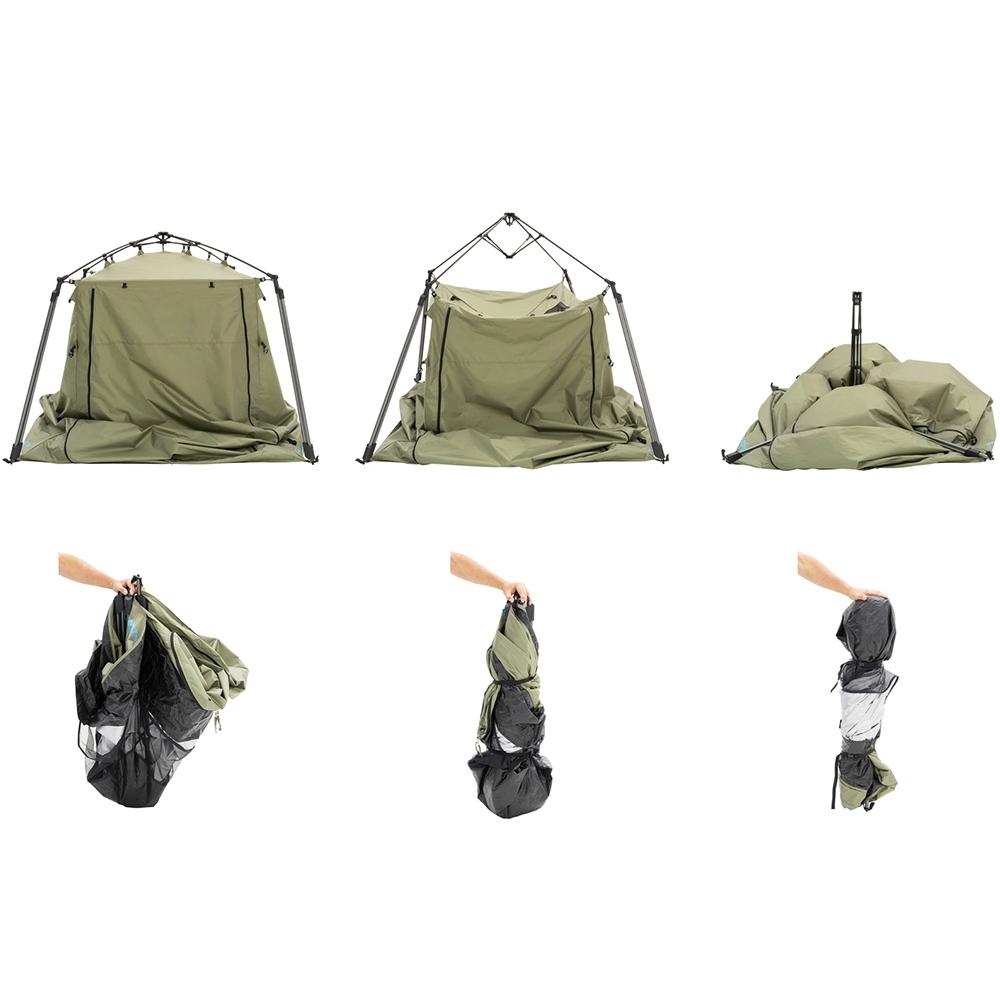 Darche Urban Quick Cube Ensuite Tent - Set Up Pack Up