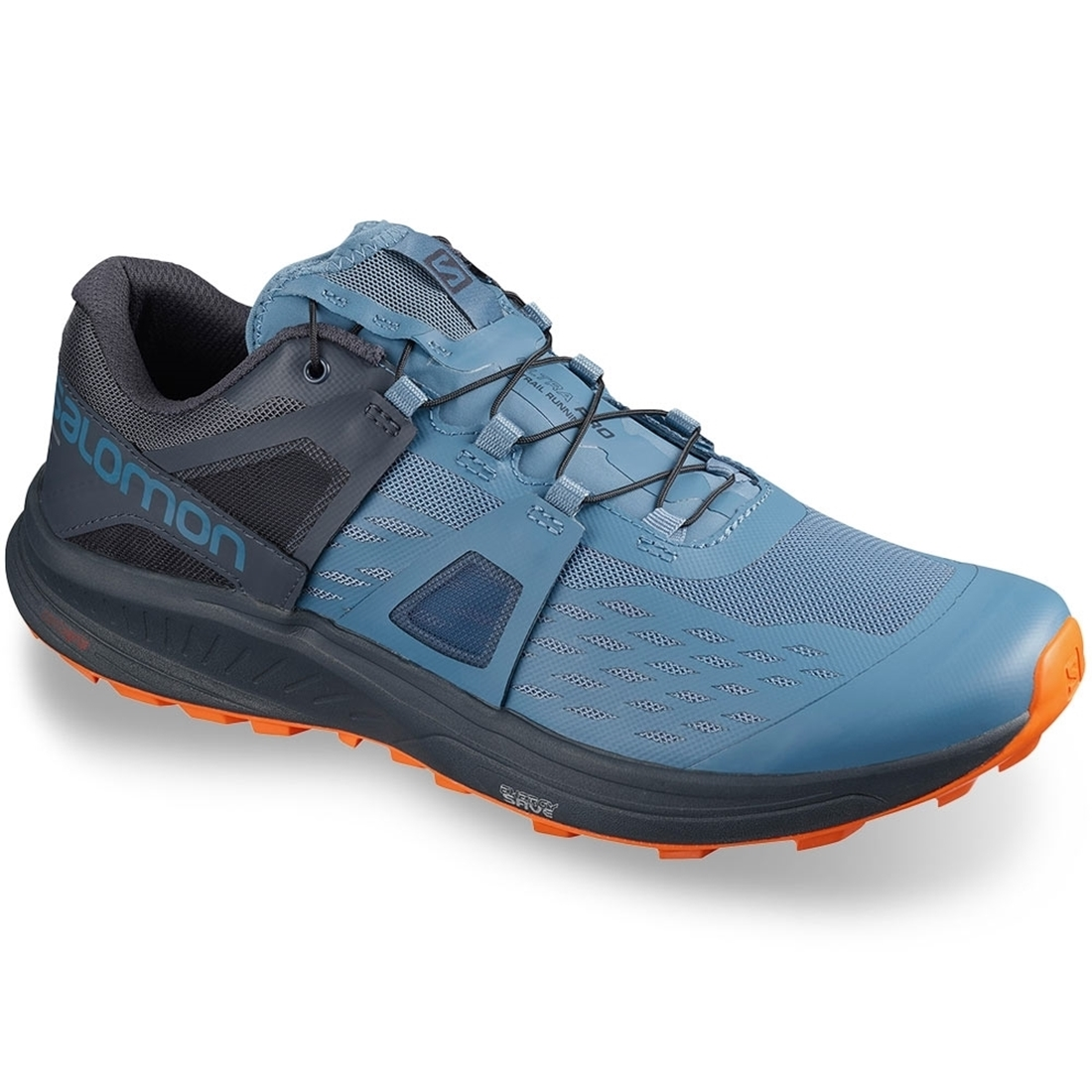 Salomon Ultra Pro Men's Shoe Copen Blue India Ink Red Orange