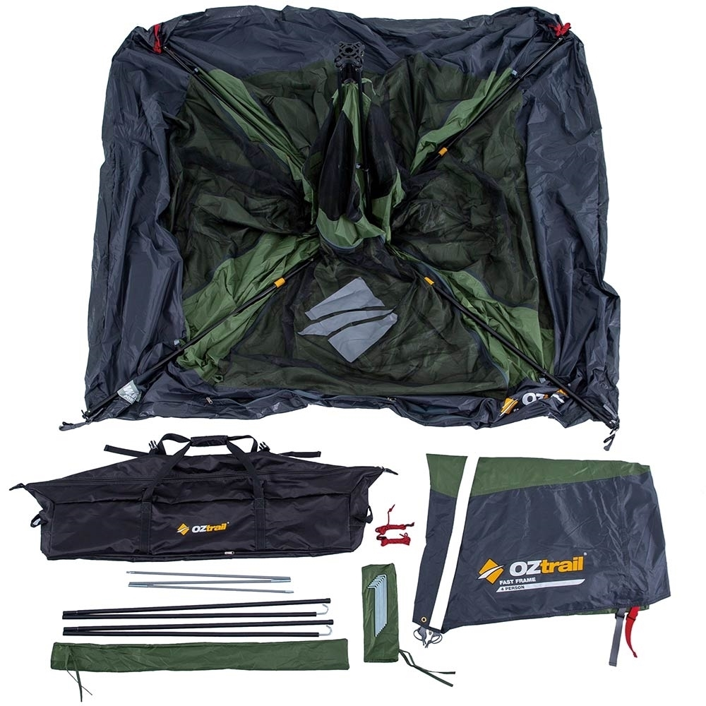 OZtrail Fast Frame 4 Person Tent - Inclusions