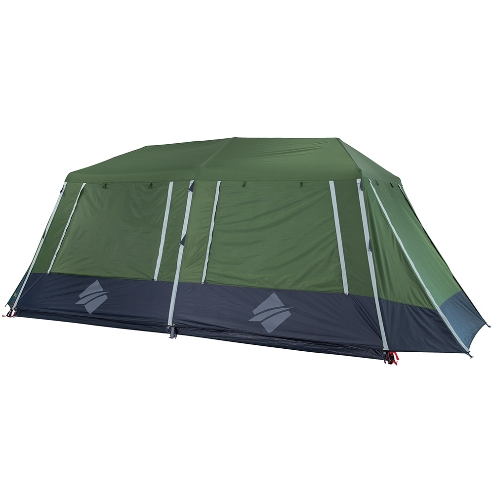 OZtrail Fast Frame 10 Person Tent - 1500mm waterhead rated polyester fly