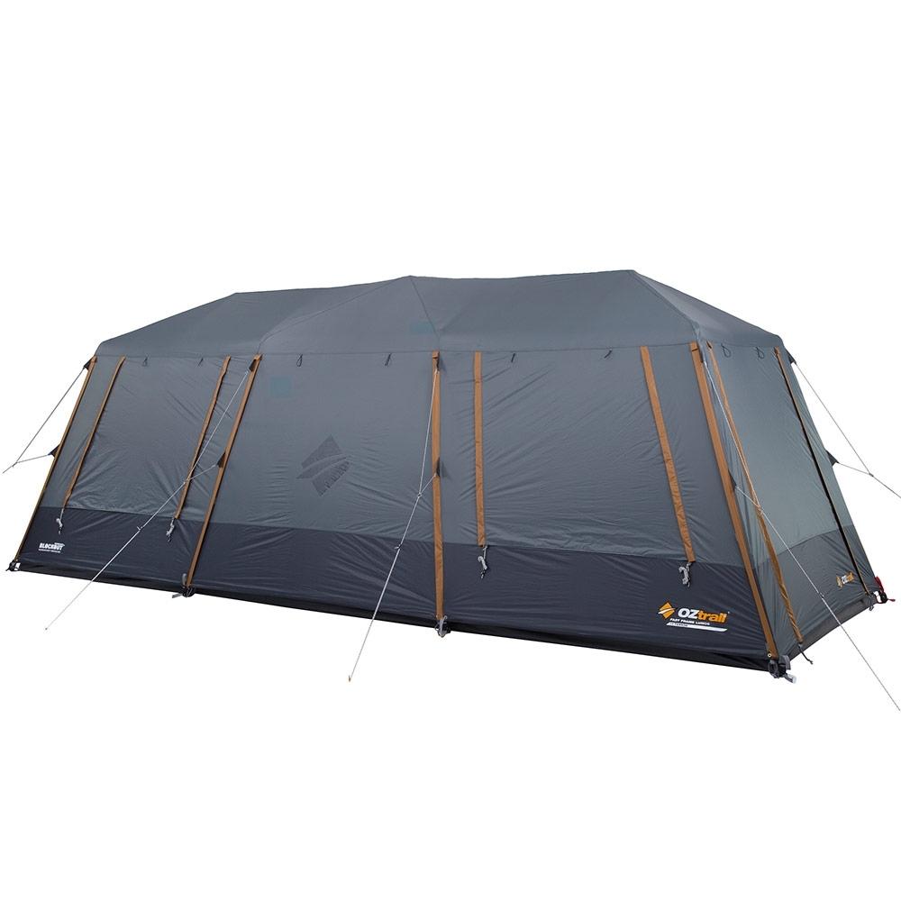 OZtrail Fast Frame Lumos 10 Person Tent - Rear & side windows