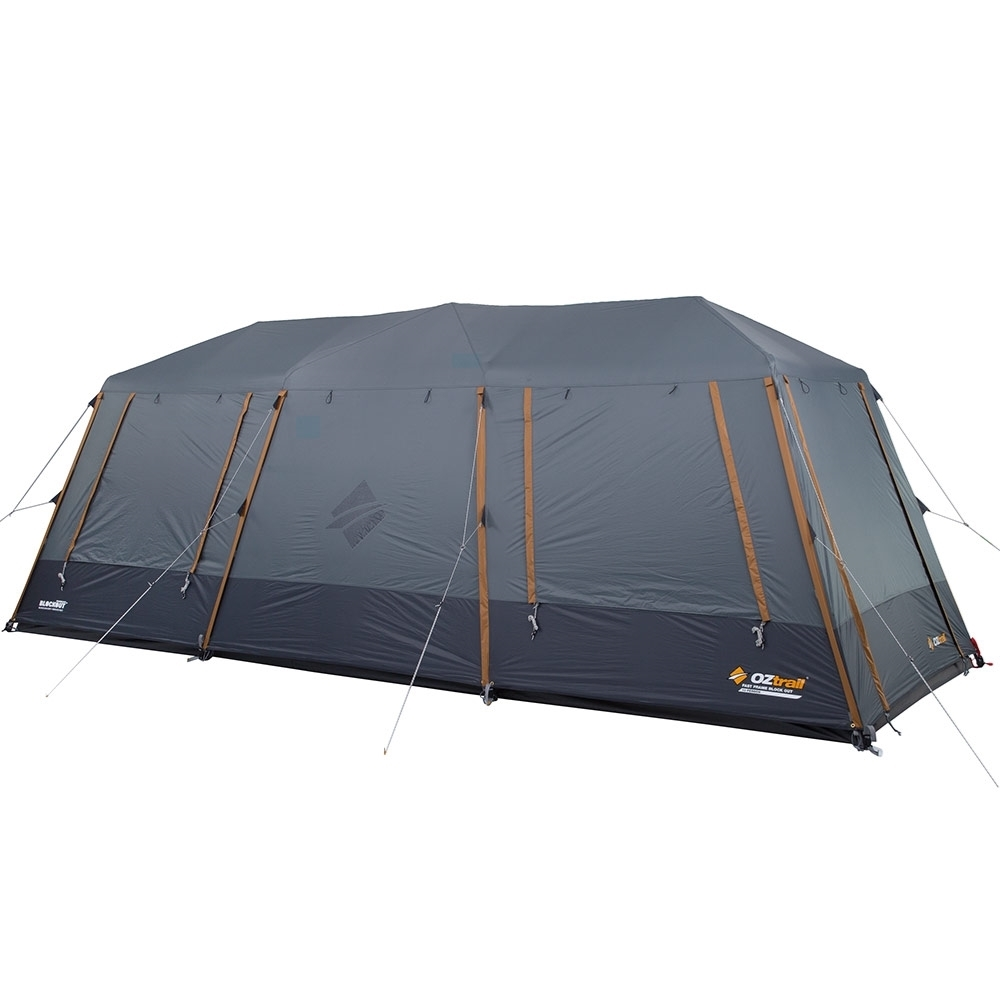 OZtrail Fast Frame Lumos 12 Person Tent - Rear & side windows