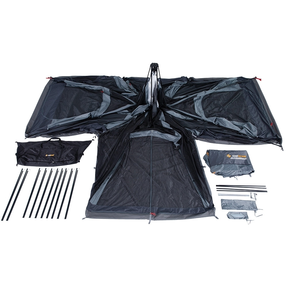 OZtrail Fast Frame Lumos 12 Person Tent - Inclusions