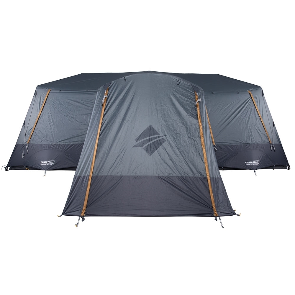 OZtrail Fast Frame Lumos 12 Person Tent - ClimaTech™ vents for enhanced airflow