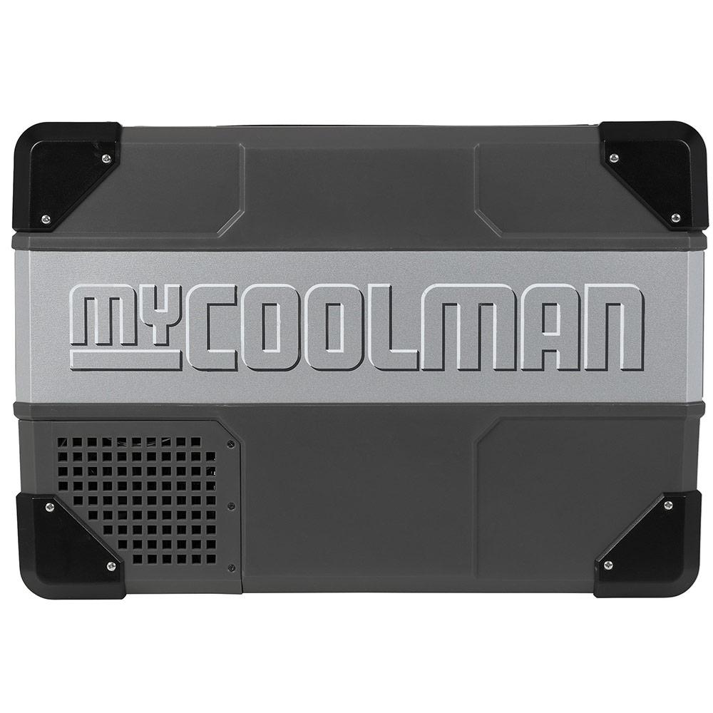 myCOOLMANCCP30 Portable Fridge/Freezer 30L - Strong metal sides and hardy plastic corners