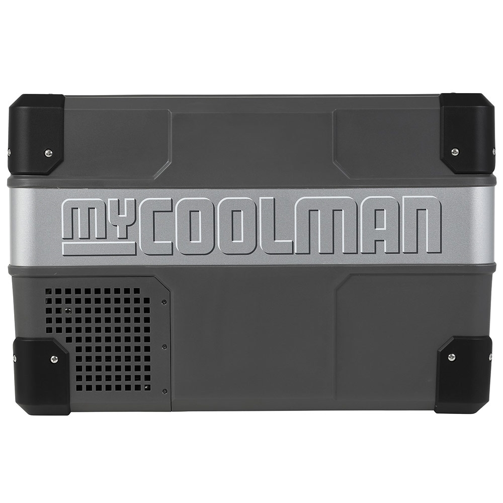 myCOOLMAN	CCP36 Portable Fridge/Freezer 36L - Strong metal sides and hardy plastic corners