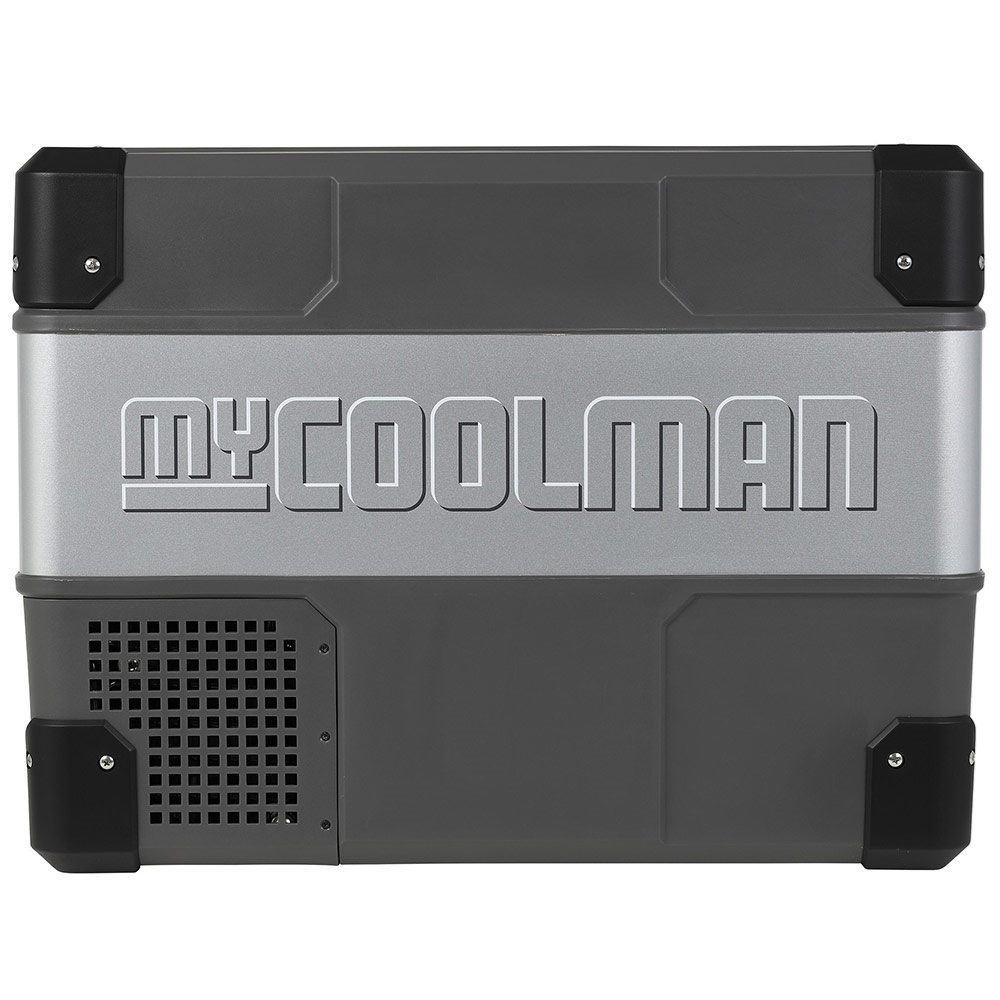myCOOLMAN	CCP44 Portable Fridge/Freezer 44L - Strong metal sides and hardy plastic corners