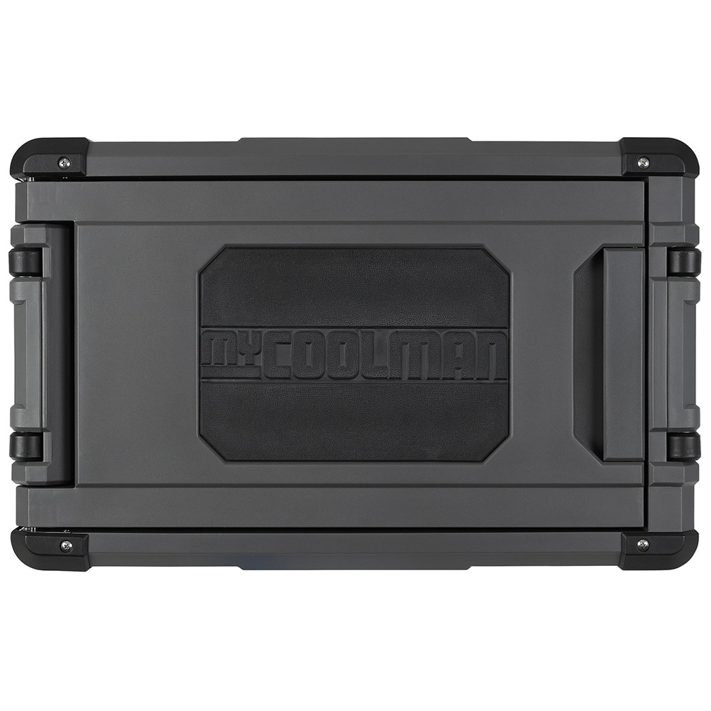 myCOOLMAN	CCP44 Portable Fridge/Freezer 44L - Rugged one-way opening lid with rubber section for grip & comfort