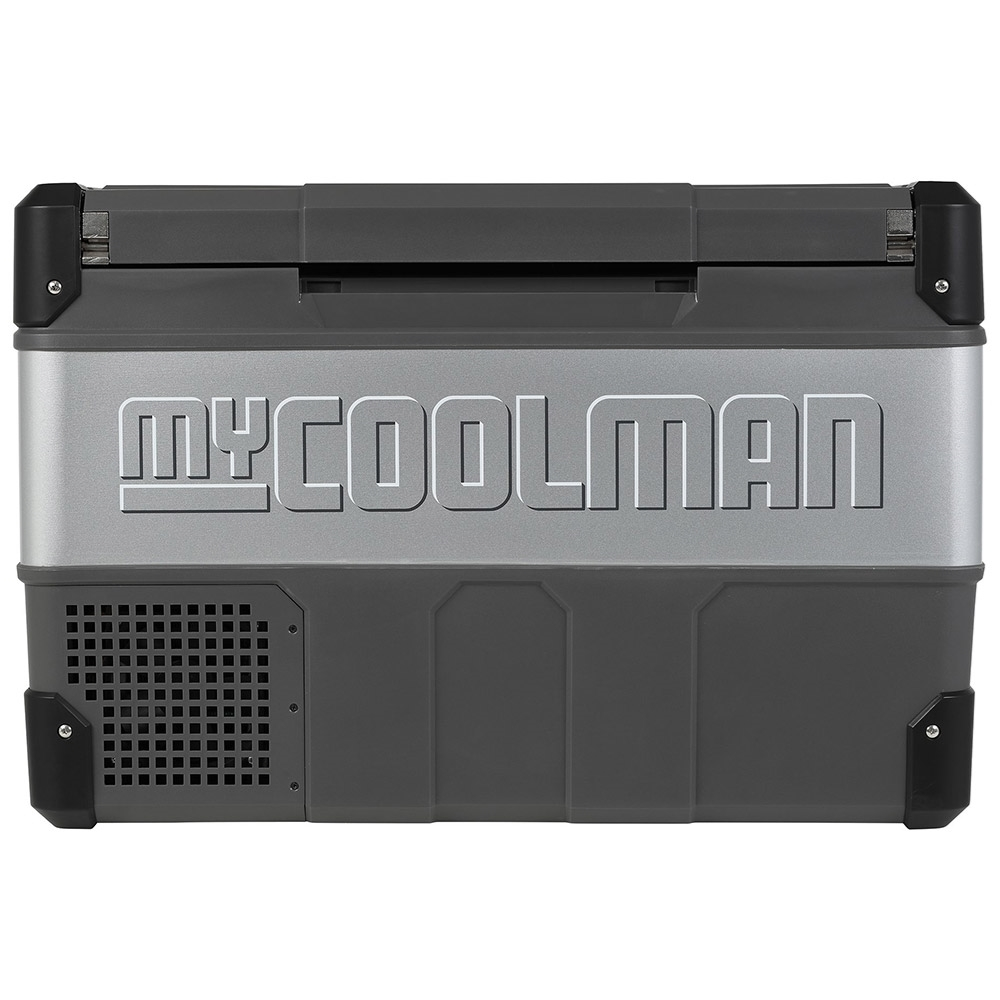 myCOOLMAN	CCP60 Portable Fridge/Freezer 60L - Strong metal sides and hardy plastic corners
