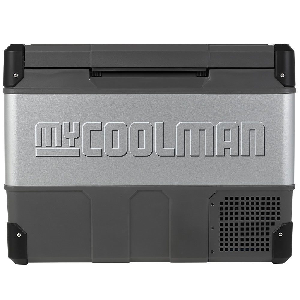 myCOOLMAN	CCP73 Portable Fridge/Freezer 73L - Strong metal sides and hardy plastic corners