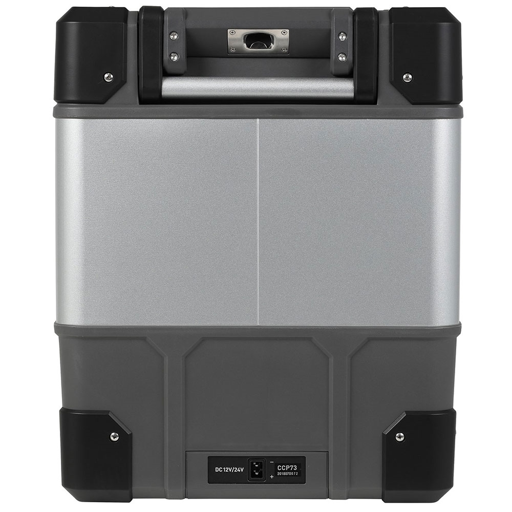 myCOOLMANCCP73 Portable Fridge/Freezer 73L - Flat carry/tie-down handles, mounted bottle openers & power inlets on each end