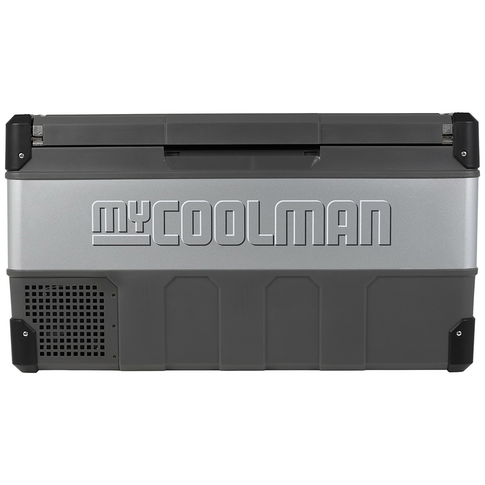 myCOOLMAN	CCP105 Portable Fridge/Freezer 105L - Strong metal sides and hardy plastic corners