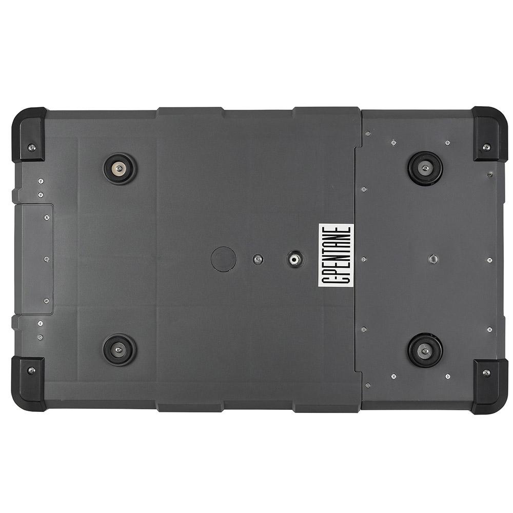 myCOOLMANCCP69DZ Dual Zone Portable Fridge/Freezer 69L - Base with feet & drainage outlet