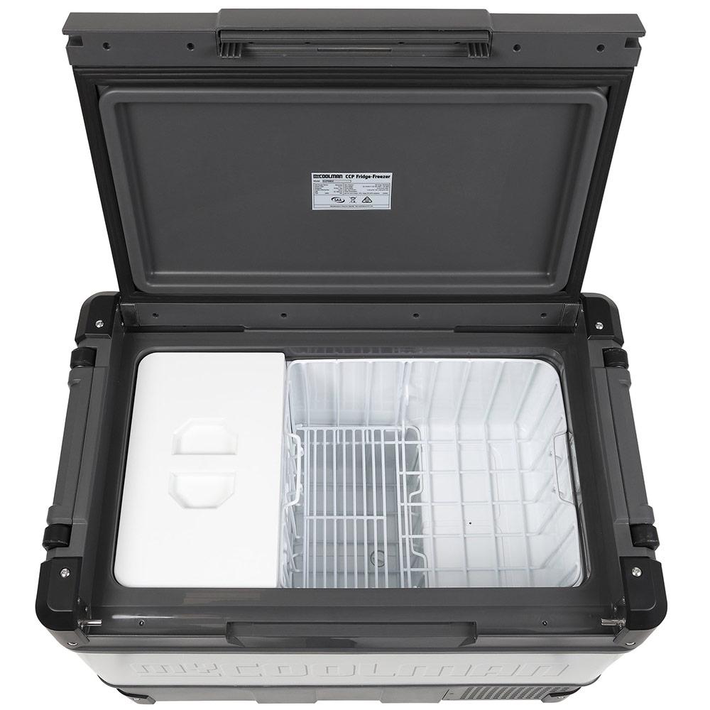 myCOOLMANCCP69DZ Dual Zone Portable Fridge/Freezer 69L - Dual zone compartments - lid on small compartment