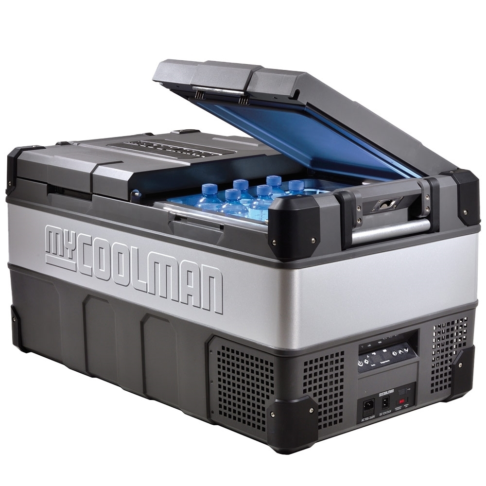 myCOOLMAN	CCP85DZ Dual Zone Portable Fridge/Freezer 85L - Dual zone, versatile and powerful