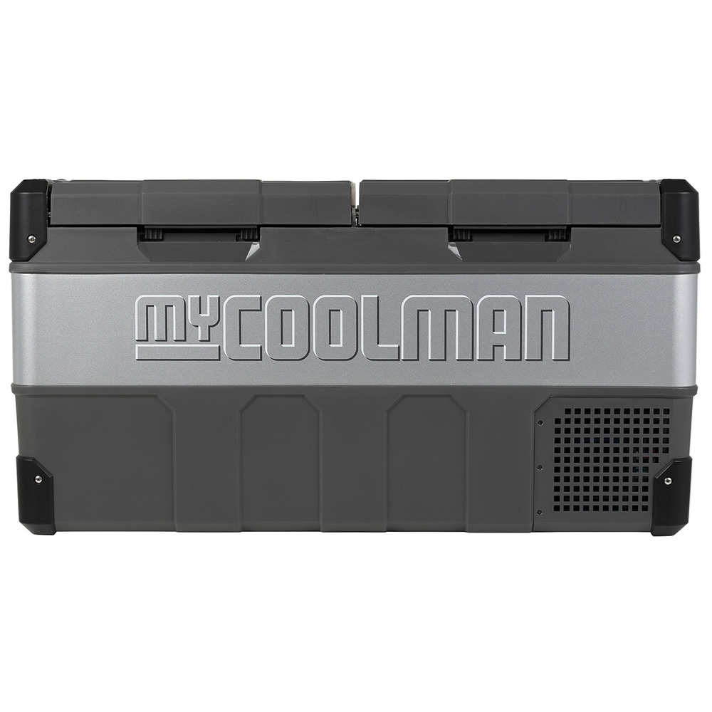 myCOOLMAN CCP85DZ Dual Zone Portable Fridge/Freezer 85L - Strong metal sides and hardy plastic corners