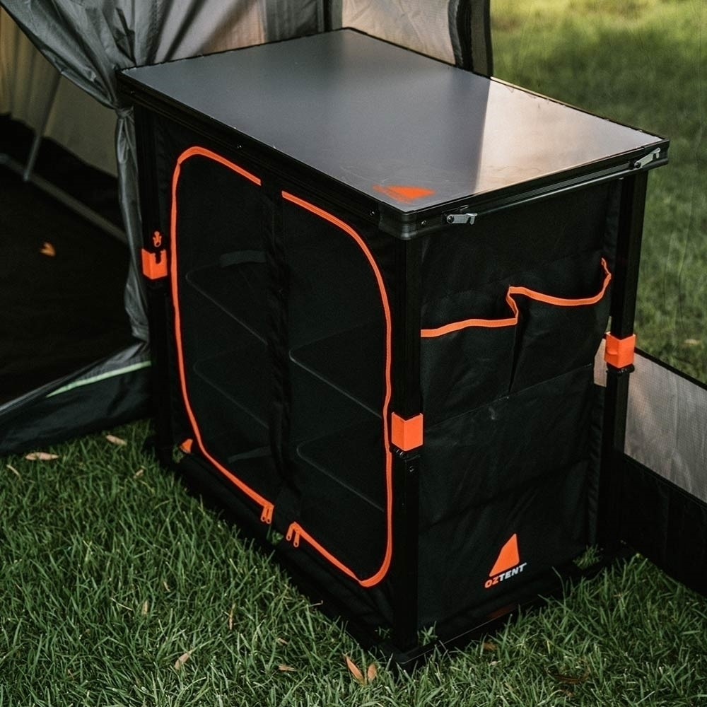 Oztent Double Camper Cupboard - Superfine mesh fly screens