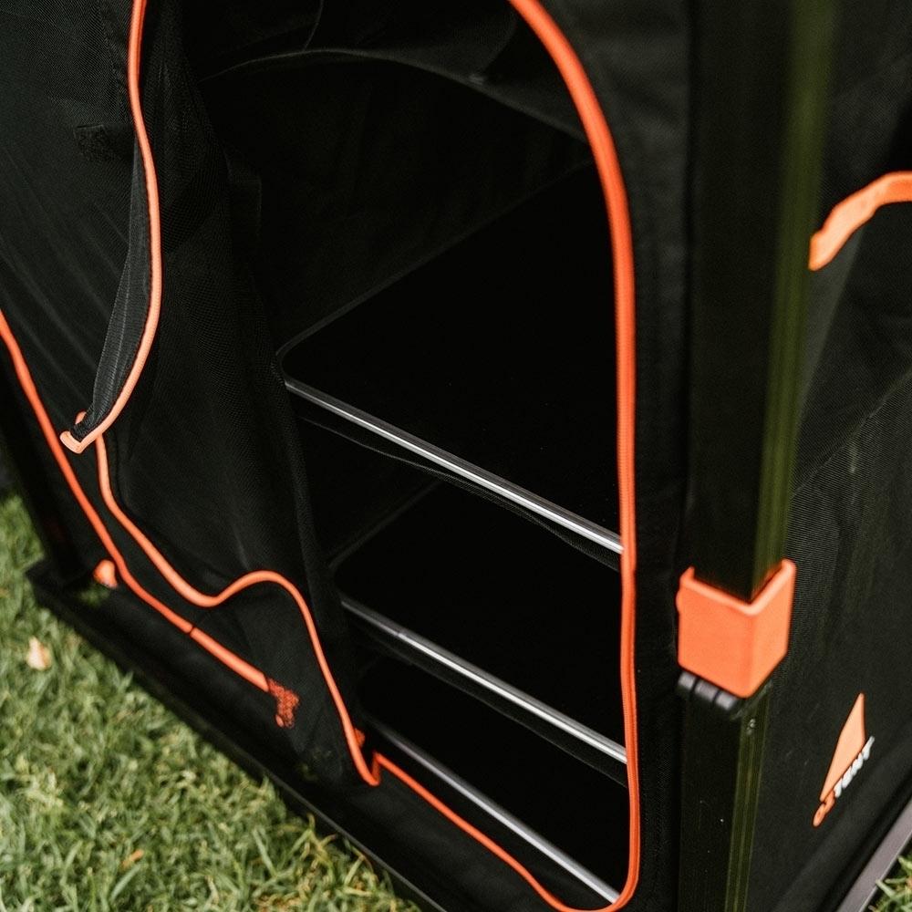 Oztent Double Camper Cupboard - 6 large internal shelves