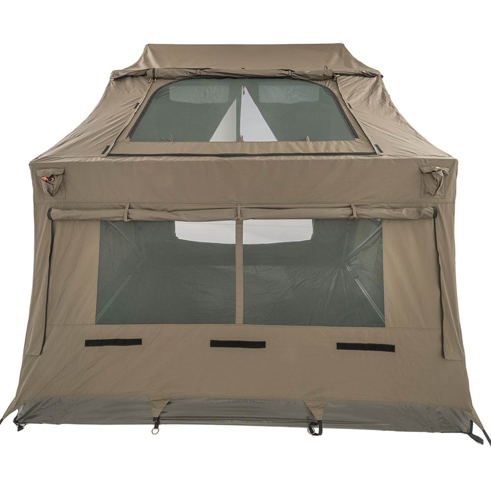 Oztent RV-3 Plus Canvas Touring Tent - SkyMesh skylight built into the roof