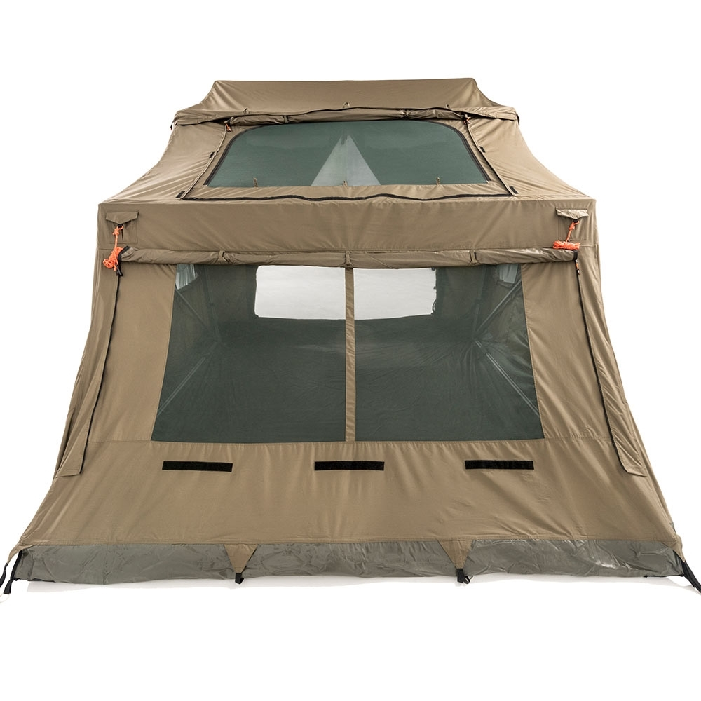 Oztent RV-5 Plus Canvas Touring Tent - SkyMesh skylight built into the roof