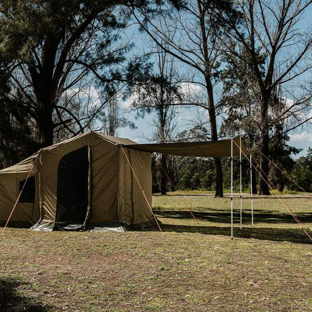 Oztent RV Plus Zip-In Tarp Extension - Lengthens your awning by 2.5 metres